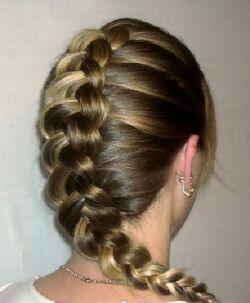 Перевернутая французская коса как научиться плести самой французскую косу наоборот